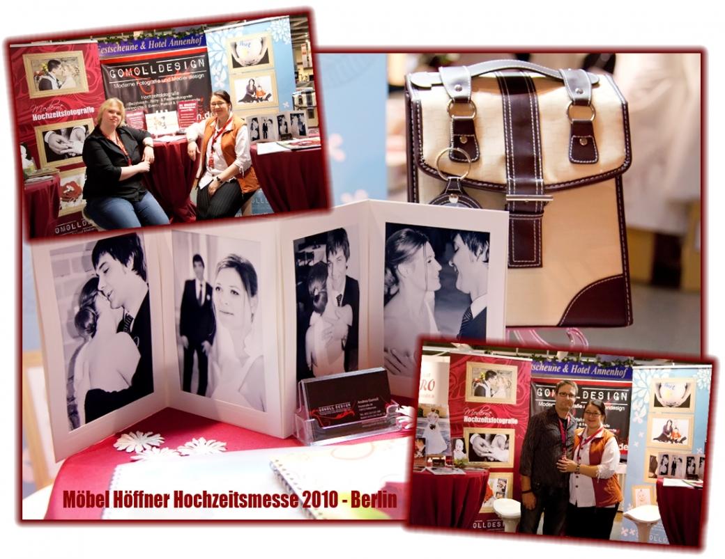 Unser Stand auf der Hochzeitsmesse in Berlin