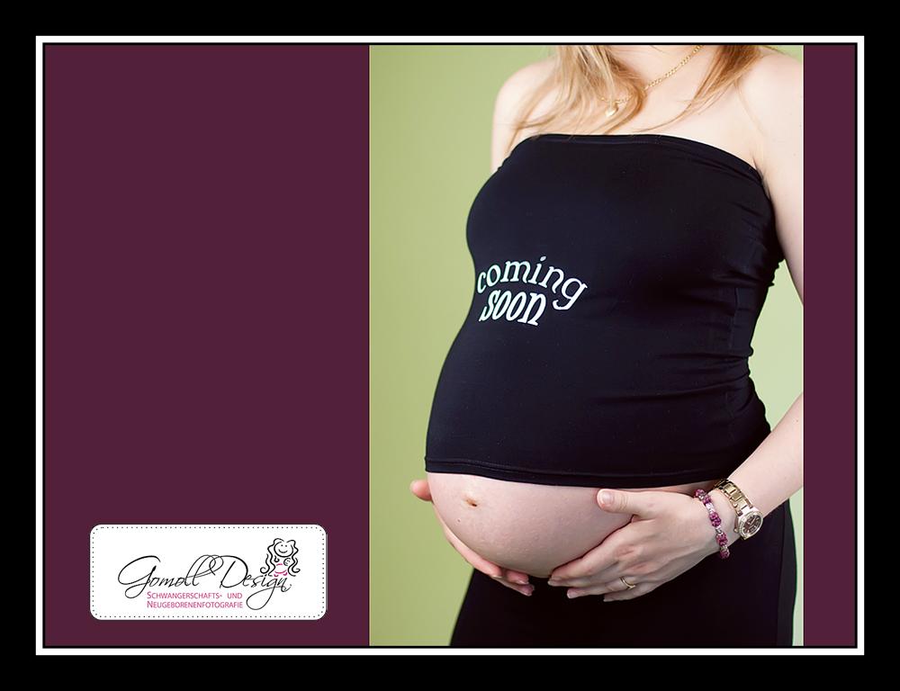 Fotograf Fotostudio Schwangerschaft Babybauch Nauen Falkensee Berlin