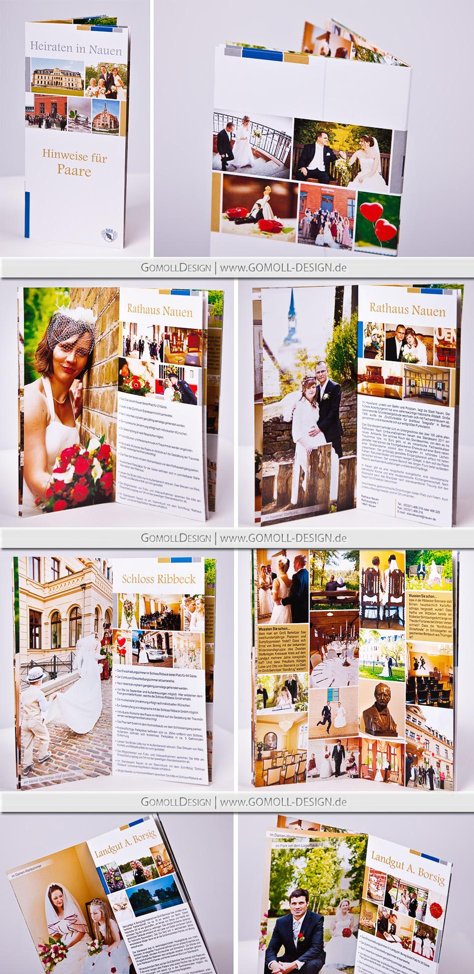 Information Brautpaare Hochzeit Nauen Ribbeck