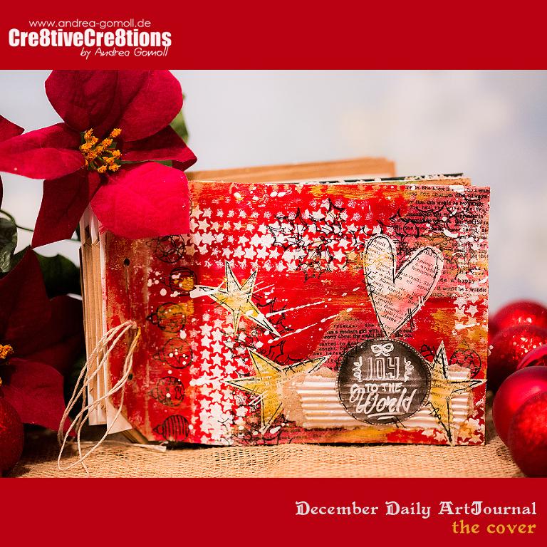 december daily artjournal cover