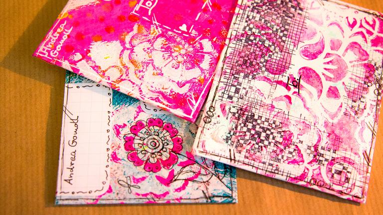 mail art envelopes handmade