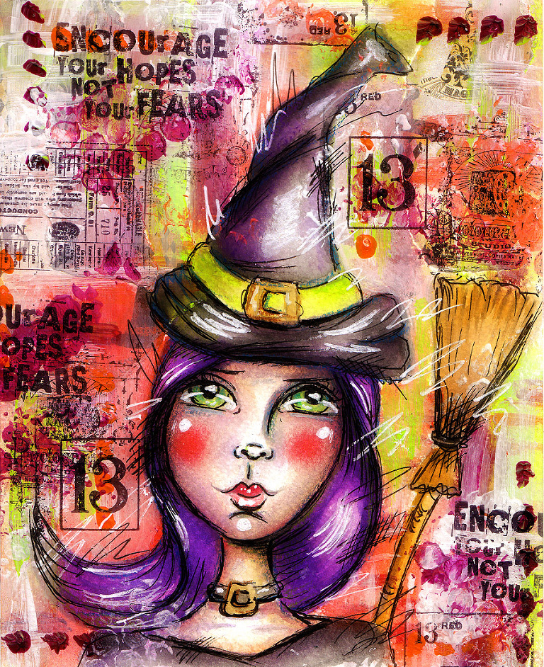 mixed-media-artjournal-halloween-2