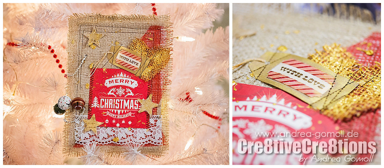 December Daily Artjournal 2014 by Andrea Gomoll