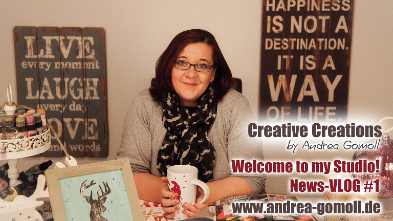 Welcome to my Studio Creative Creations Video Newsletter Vol. 1