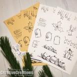 free christmas printable gifttag filofax planner