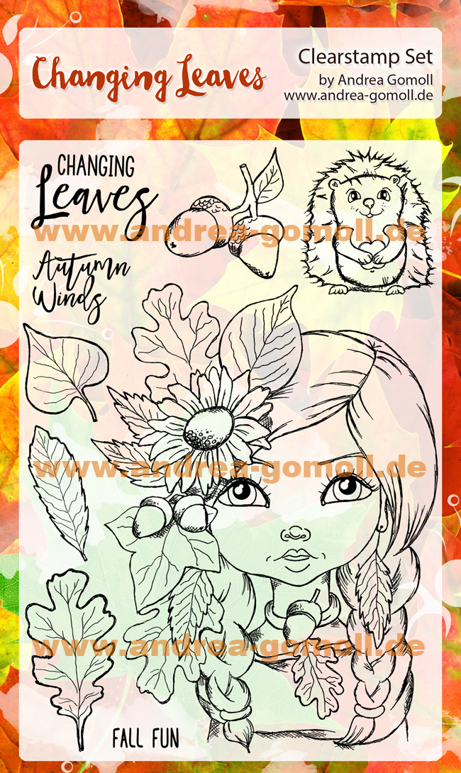 Autumn Leaves Stampset