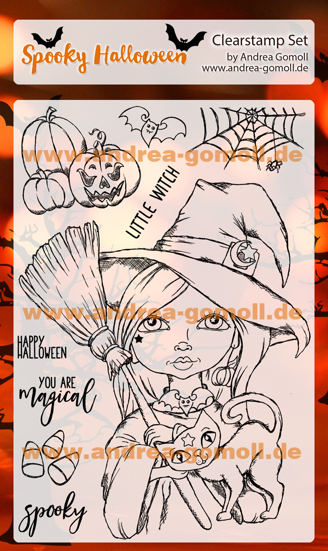 Halloween Witch Stampset