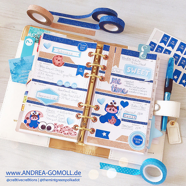 Websters Pages Color Crush Planner Andrea Gomoll