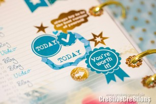 free print and cut file silhouette for planner sticker