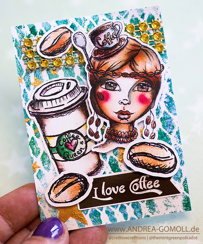 Stamps by Andrea Gomoll Coffee Queen
