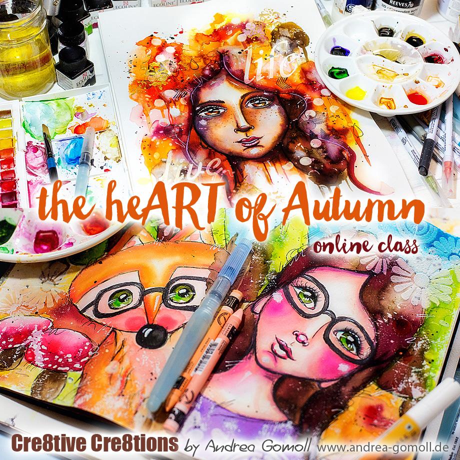 the heART of Autumn Online Class
