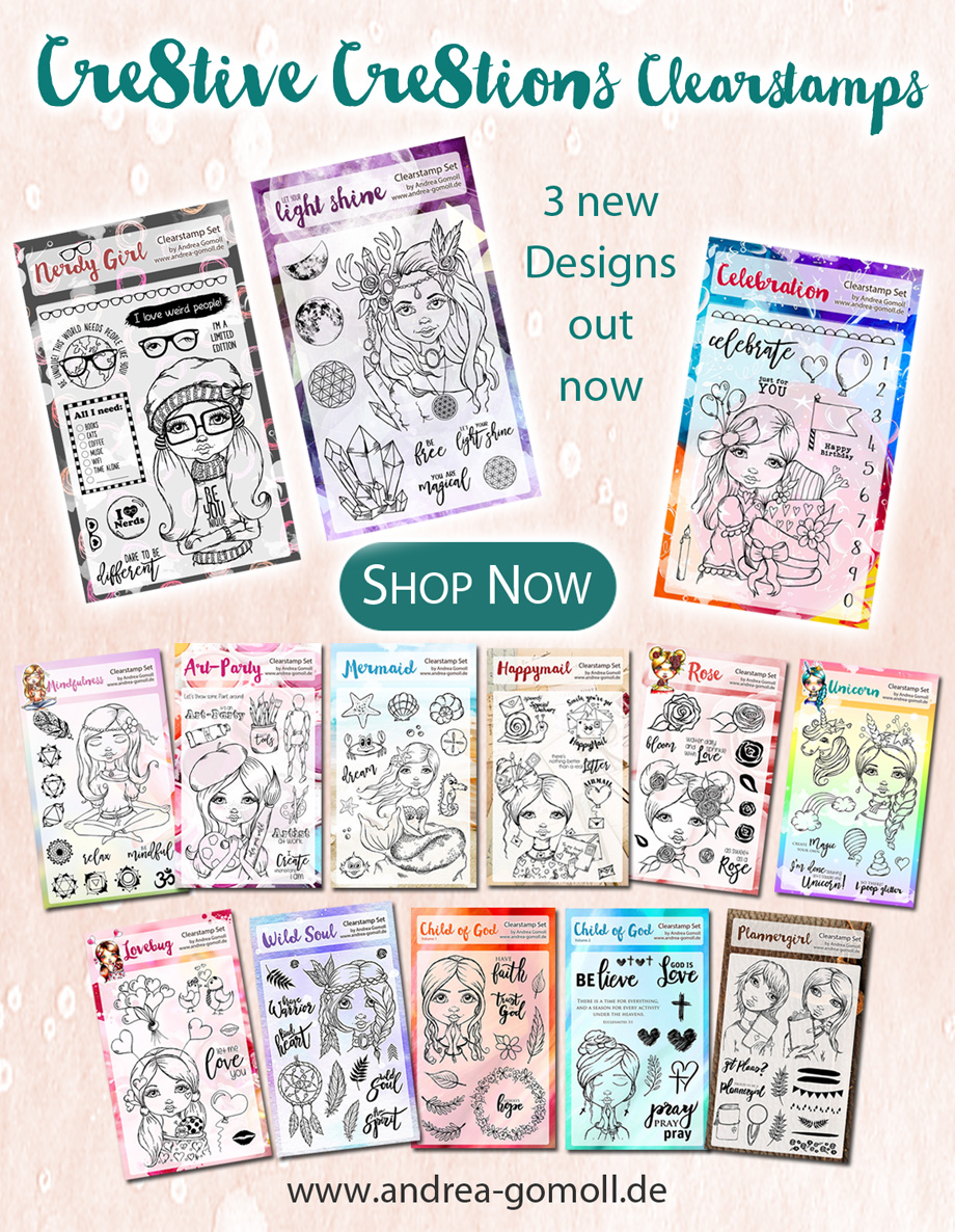 Cre8tive Cre8tions by Andrea Gomoll Clearstamps