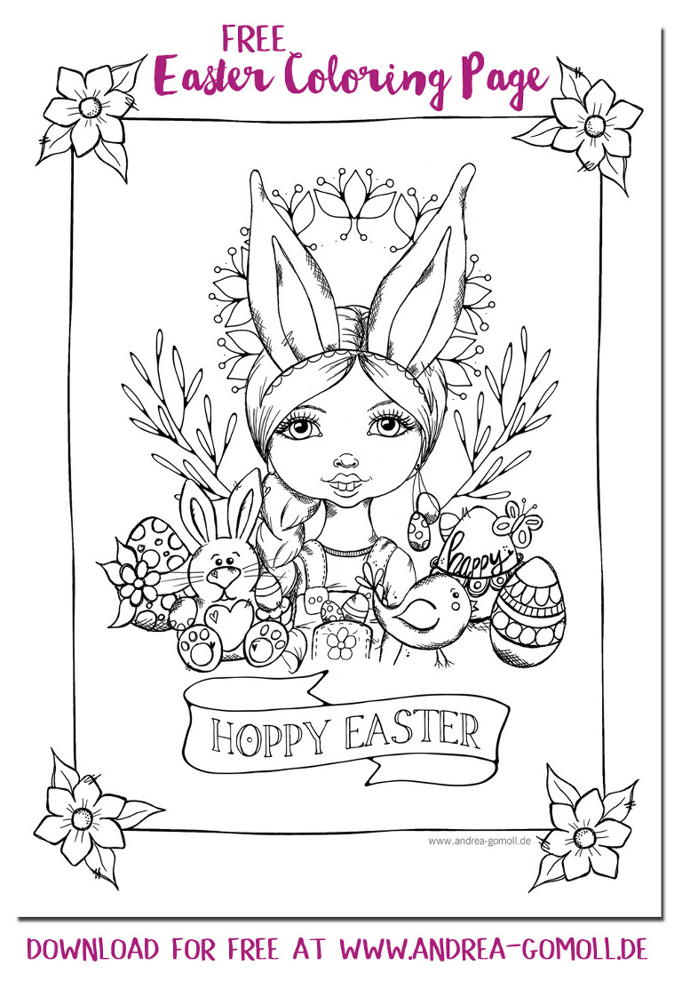 29 Extraordinary Free Easter Coloring Pages For Kids Picture ... | 1104x768