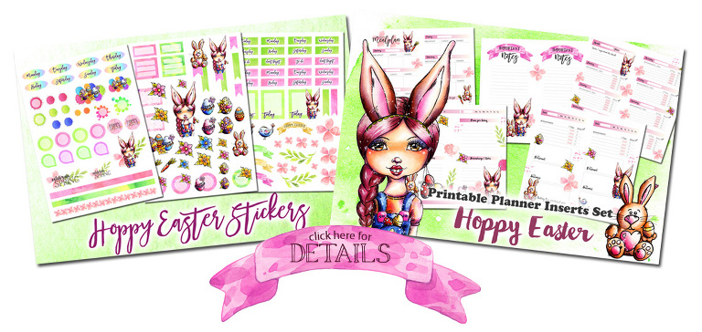 Easter Planner Inserts and Stickers