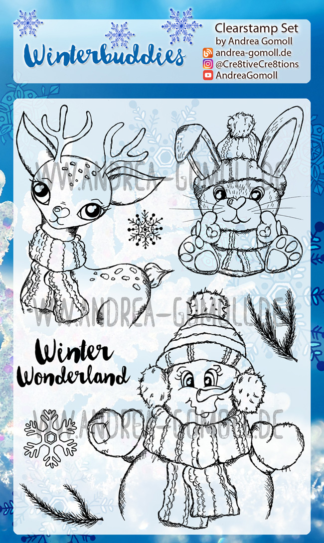 Winterbuddies Stampset