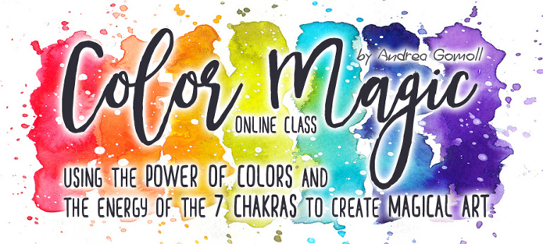 Color Magic Online Class by Andrea Gomoll