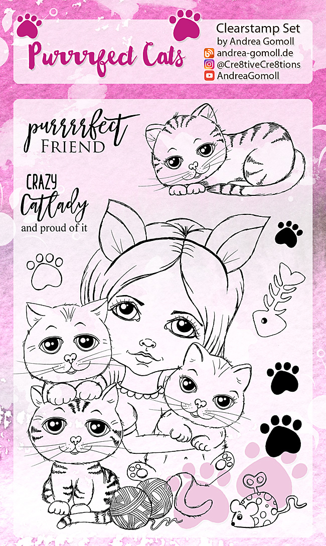 Purrrfect Cats Stampset