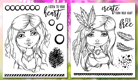 Andrea Gomoll Stamps