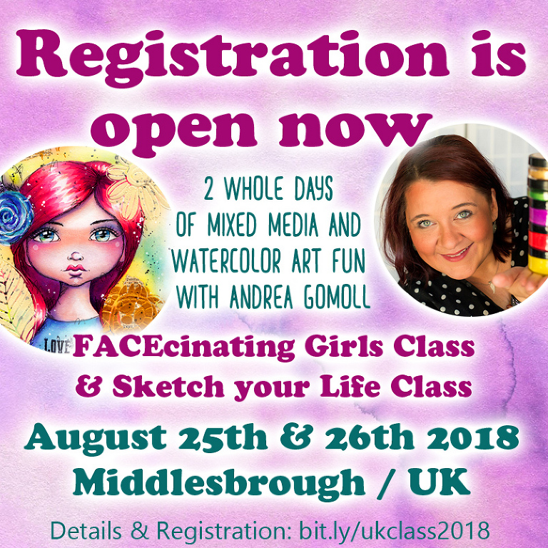 Andrea Gomoll Workshop UK 2018