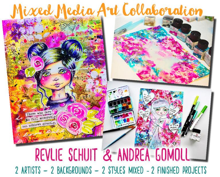 Mixed Media Revlie Schuit Andrea Gomoll