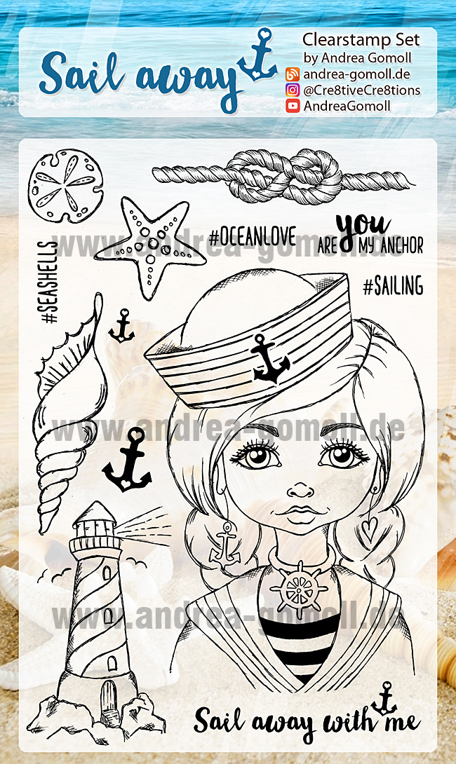 Sail Away Stampset