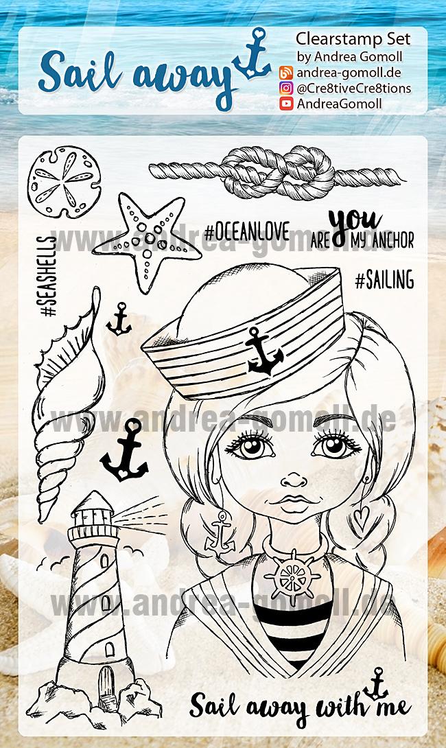 Sail Away Stampset