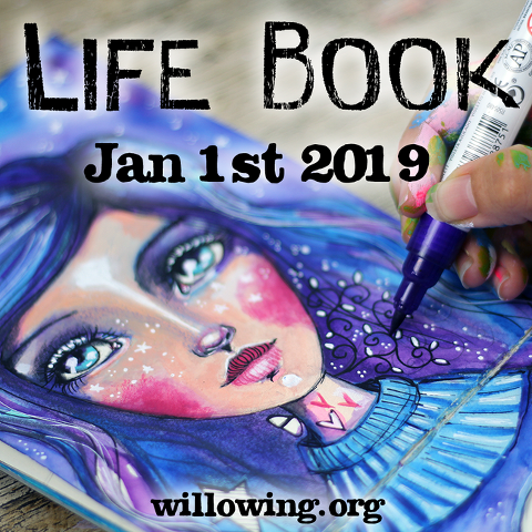 Lifebook 2019 Mixed Media Course