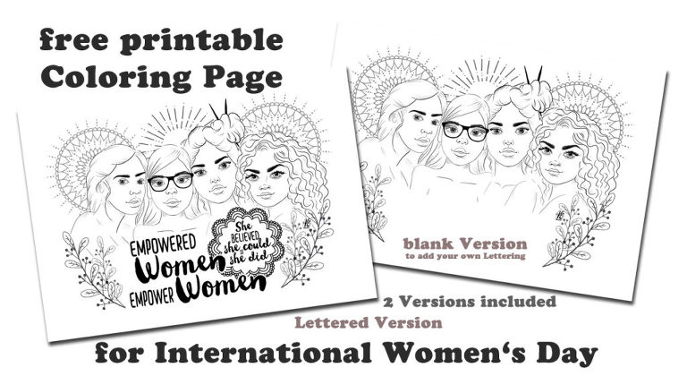 Happy International Women S Day Cre8tive Cre8tions By Andrea Gomoll