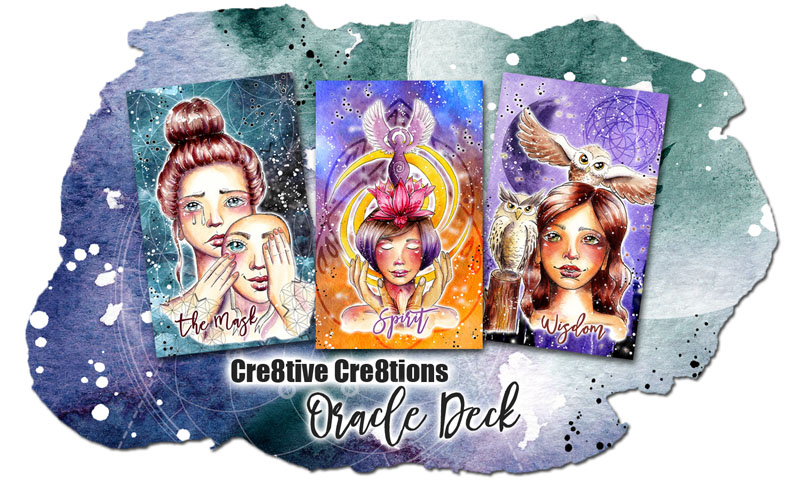 Cre8tive Cre8tions Oracle Deck by Andrea Gomoll